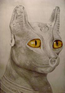 Bastet, diosa gata egipcia