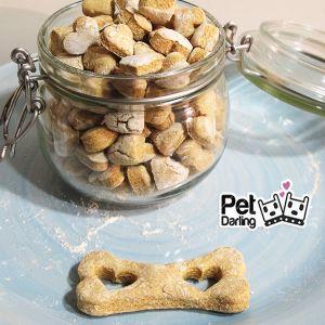 Galletas para perro hechas con potitos de bebé