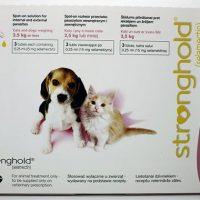 pipeta stronghold perros y gatos