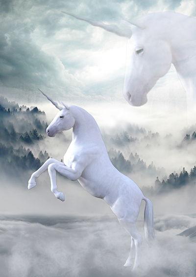 seres mitológicos unicornio